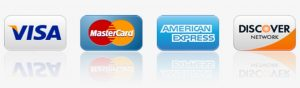 At Gentry Towing we accept all major credit cards